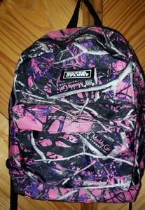 💕 Muddy Girl  Camo Backpack adult size.